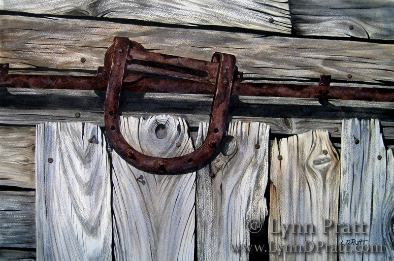 rusted barn door track watermark